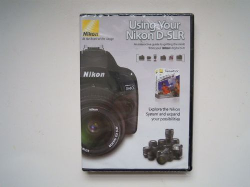NIKON USING YOUR NIKON D-SLR DVD